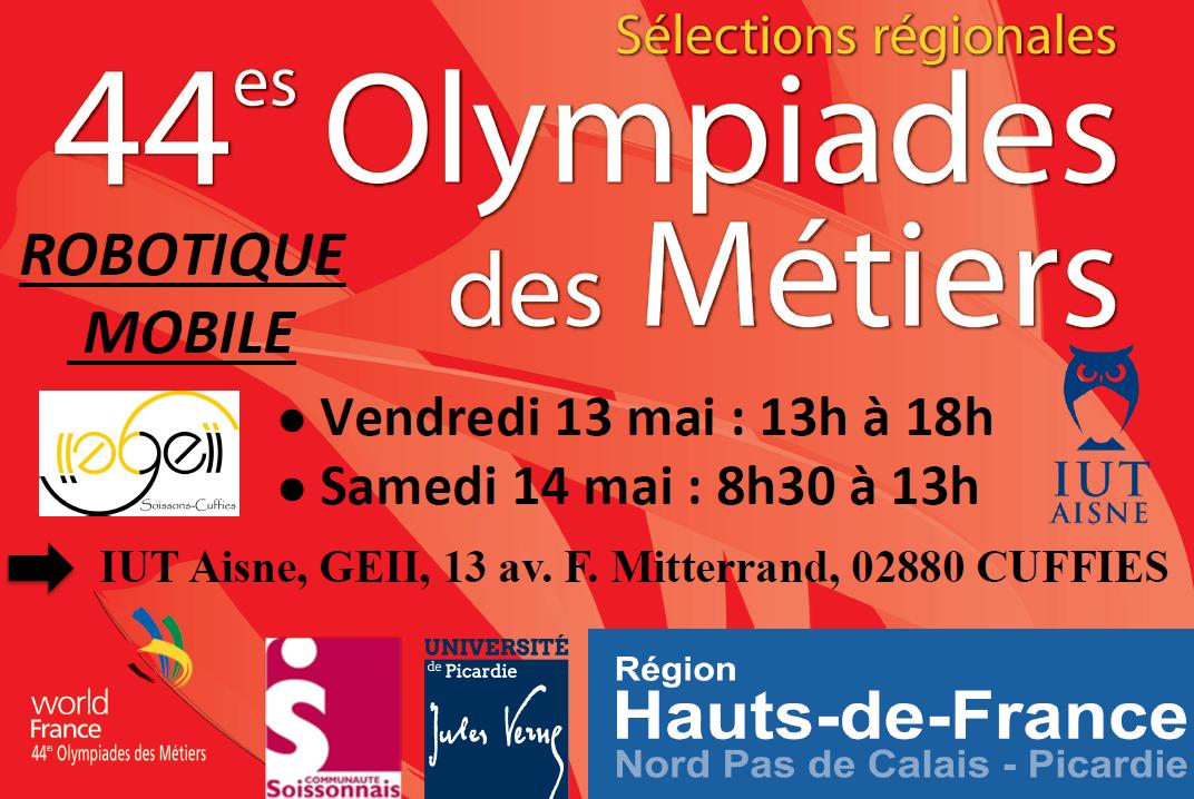 44es Olympiades des Métiers