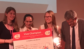 Vice-championne du championnat national des Start-up