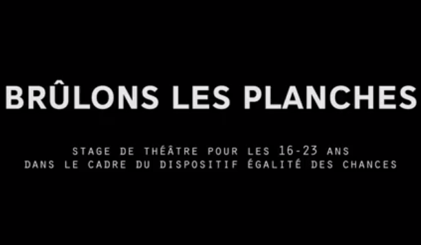 Brulons les planches