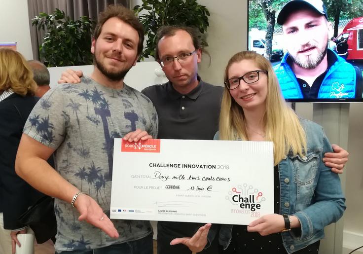 Challenge innovation 2018 - projet GERRIDAE