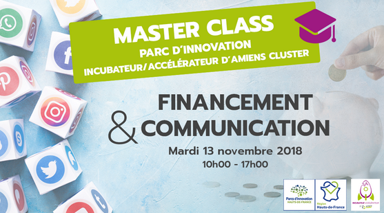 Master Class Finacement & Communication