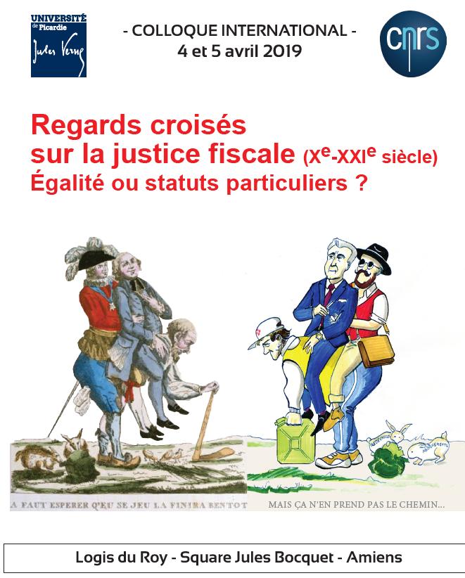 Regars croisés sur la justice fiscale (Xe-XXIe siècle)