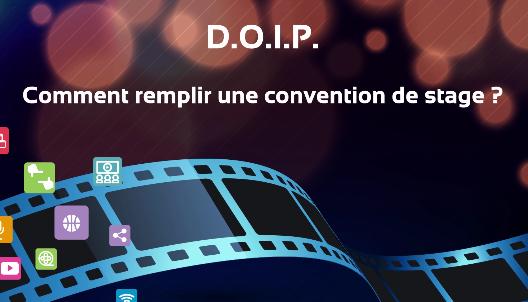Tutoriel video convention de stages