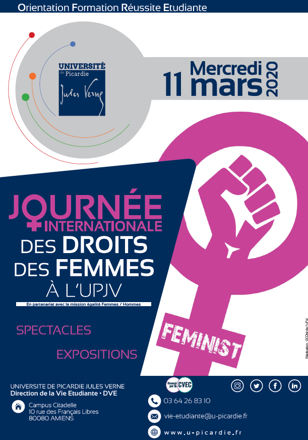 journée des droits des femmes à l'UPJV