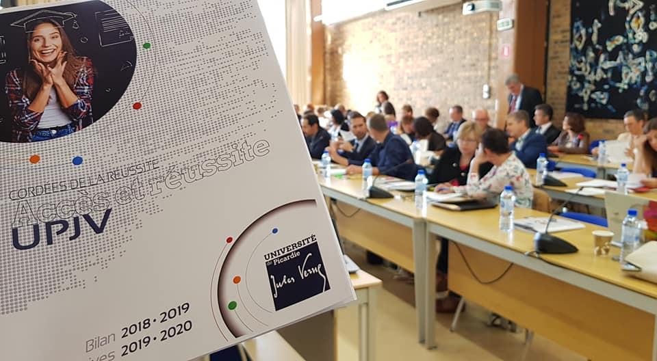 Cordées de la réussite UPJV : réunion de bilan/lancement