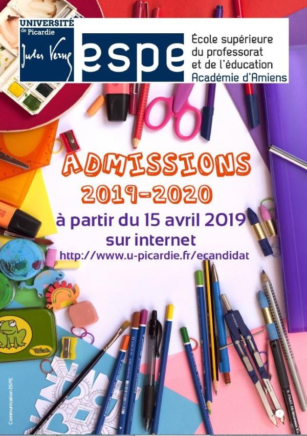 Admissions 2019-2020