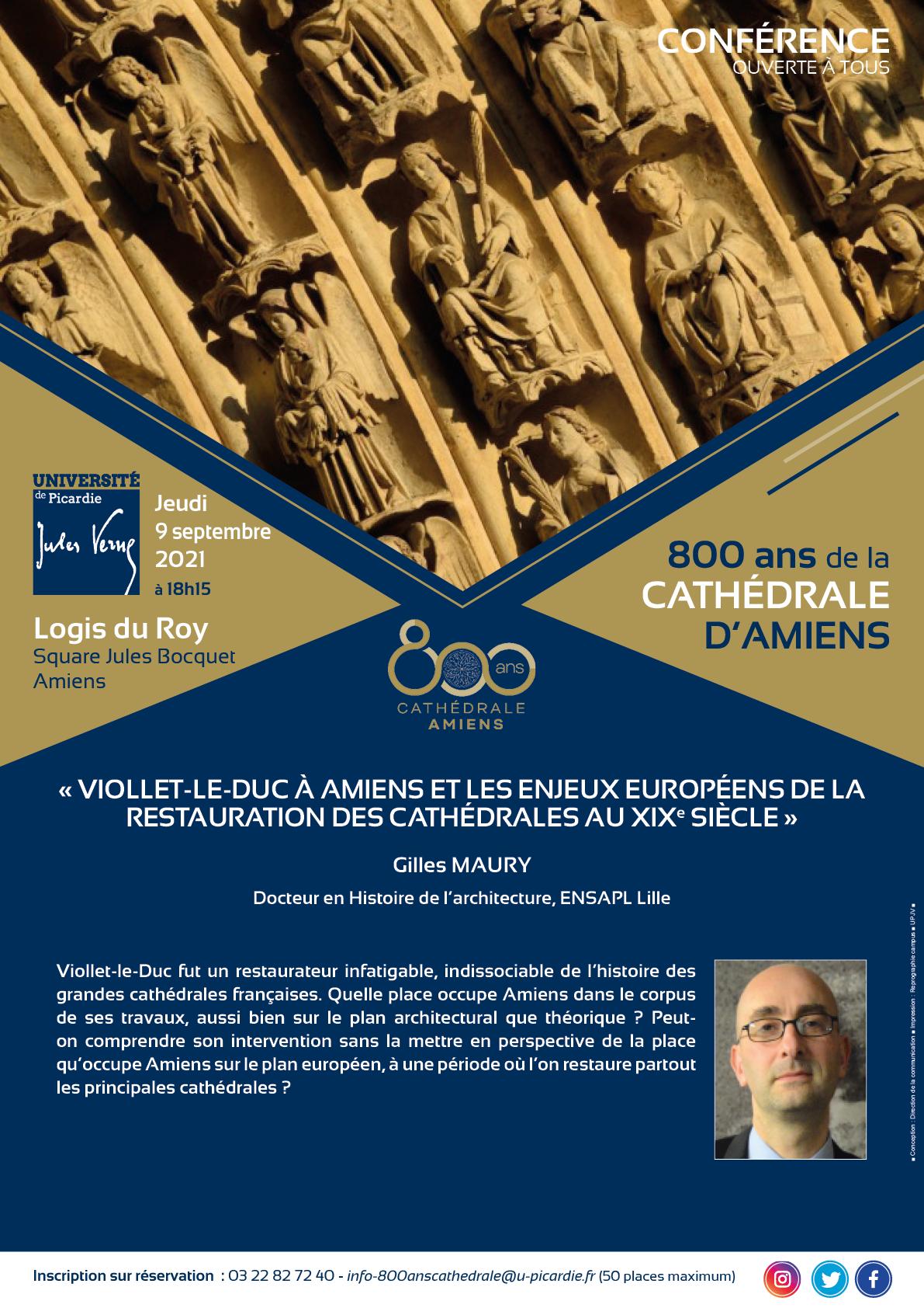 800 ans MAURY