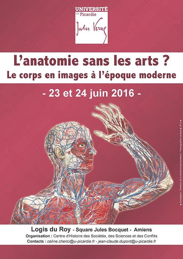 Anatomie sans les arts