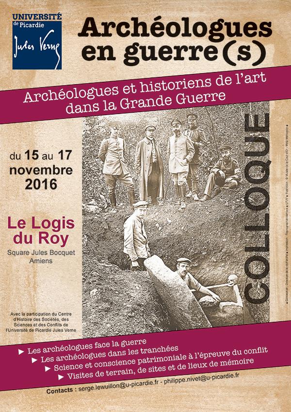 Archéologues en guerre
