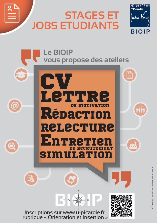 Ateliers CV - Lettres