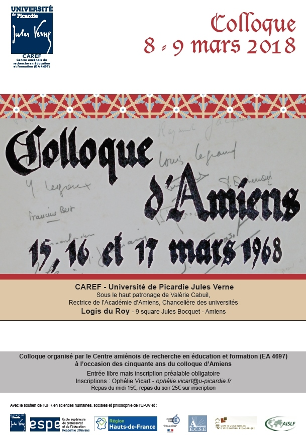Colloque d'Amiens