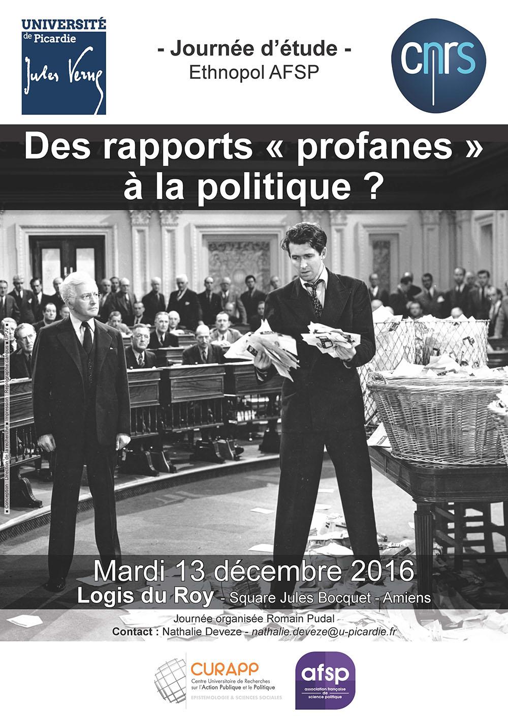 Des rapports « profanes » à la politique ?