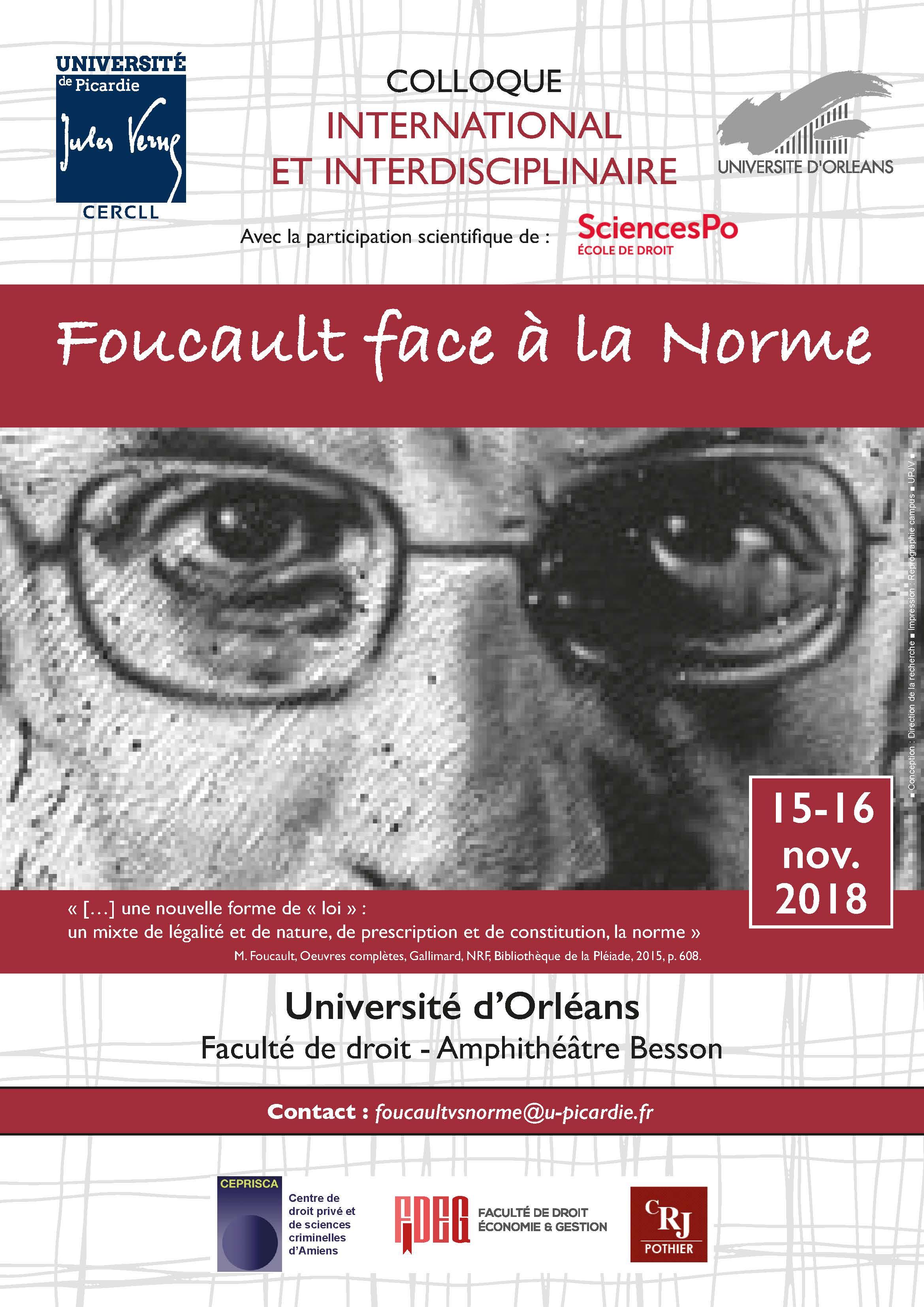 Affiche Foucault