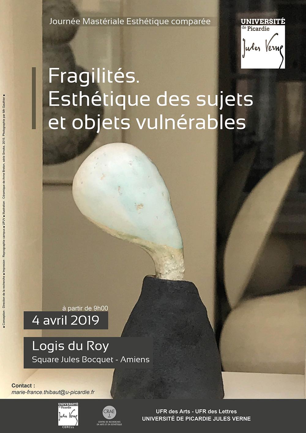 Affiche Fragilités