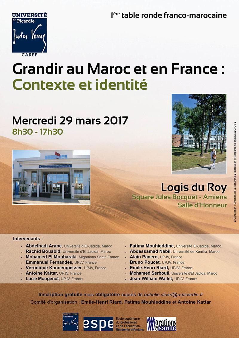 Affiche Franco-Maroc