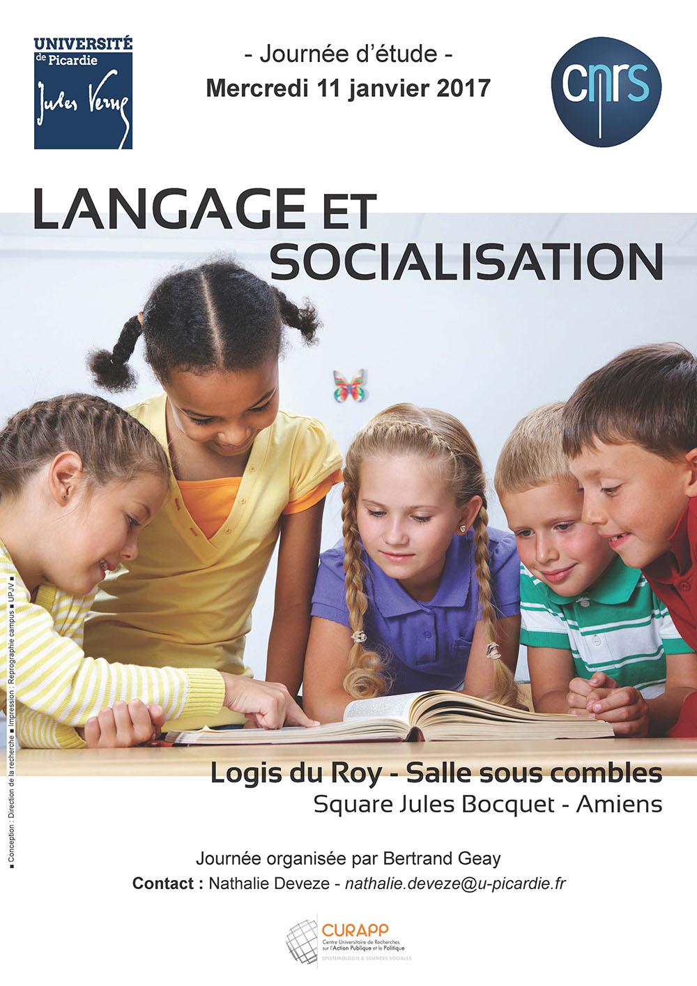 Langage et socialisation
