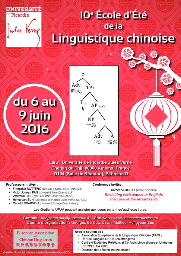 Linguistique chinoise
