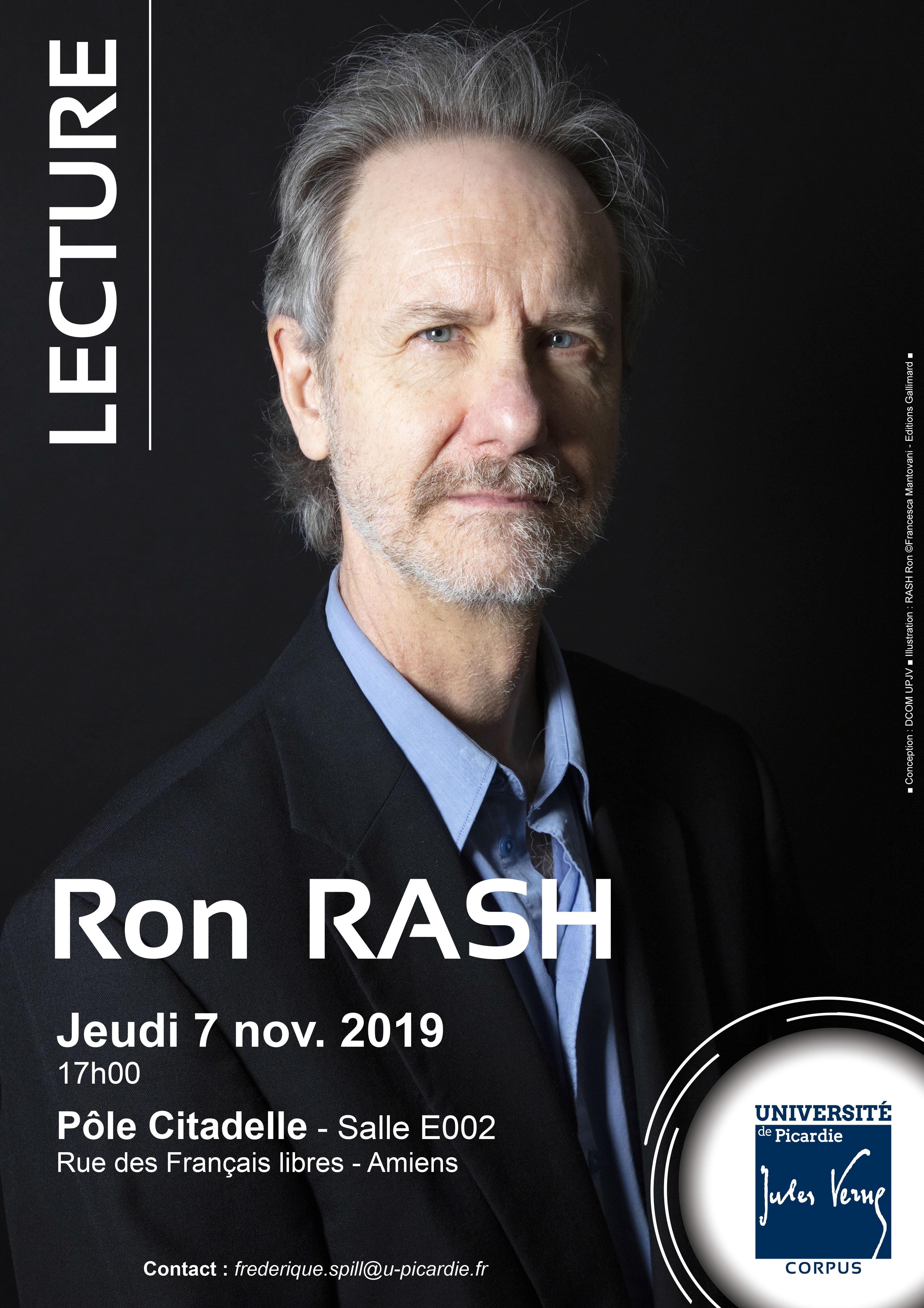 Ron Rash novembre 2019