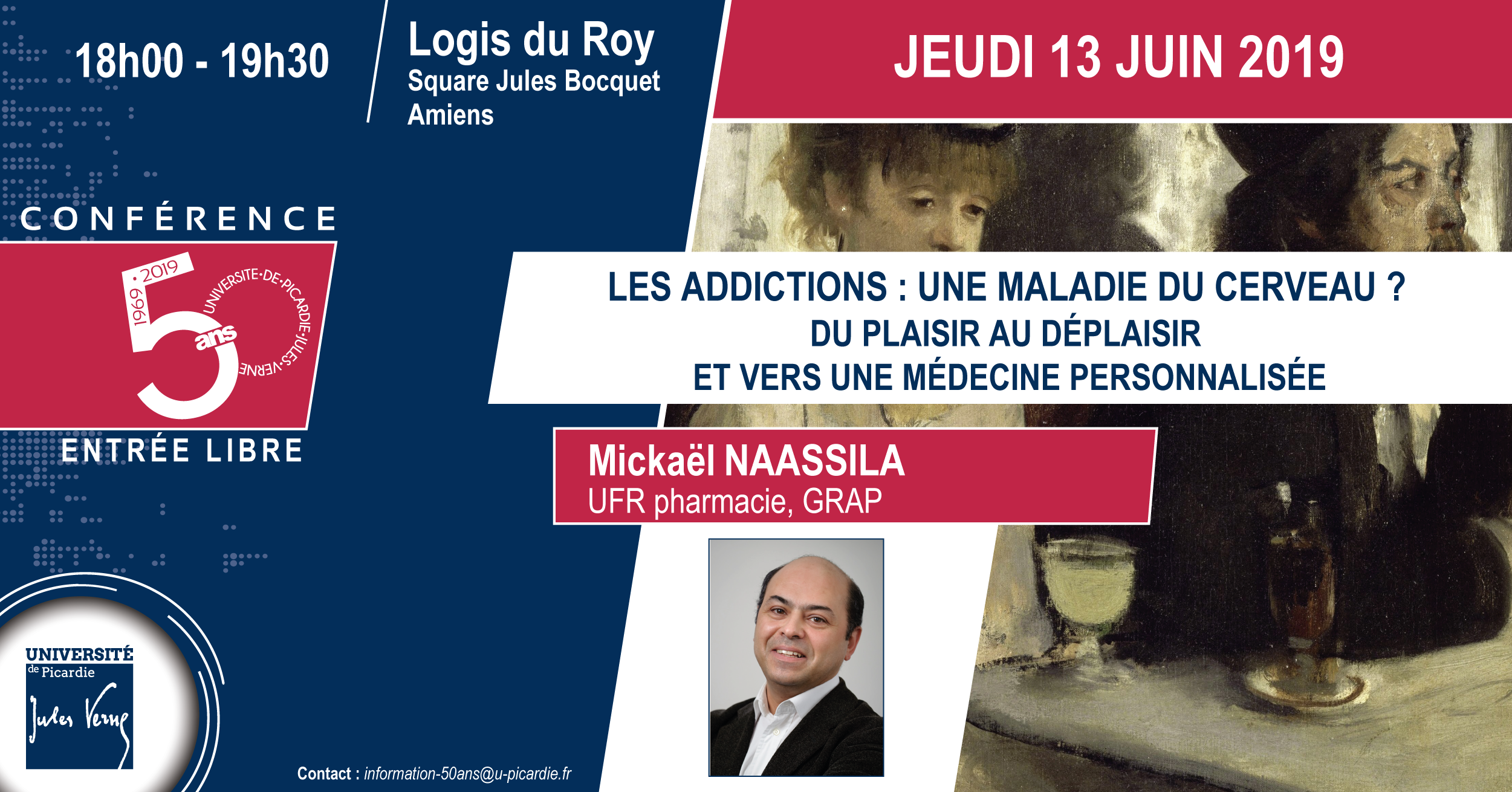 Addictions - Conf. 50ans