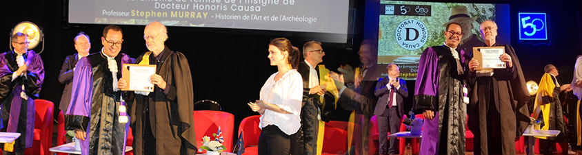 Docteur honoris causa - Stephen Murray