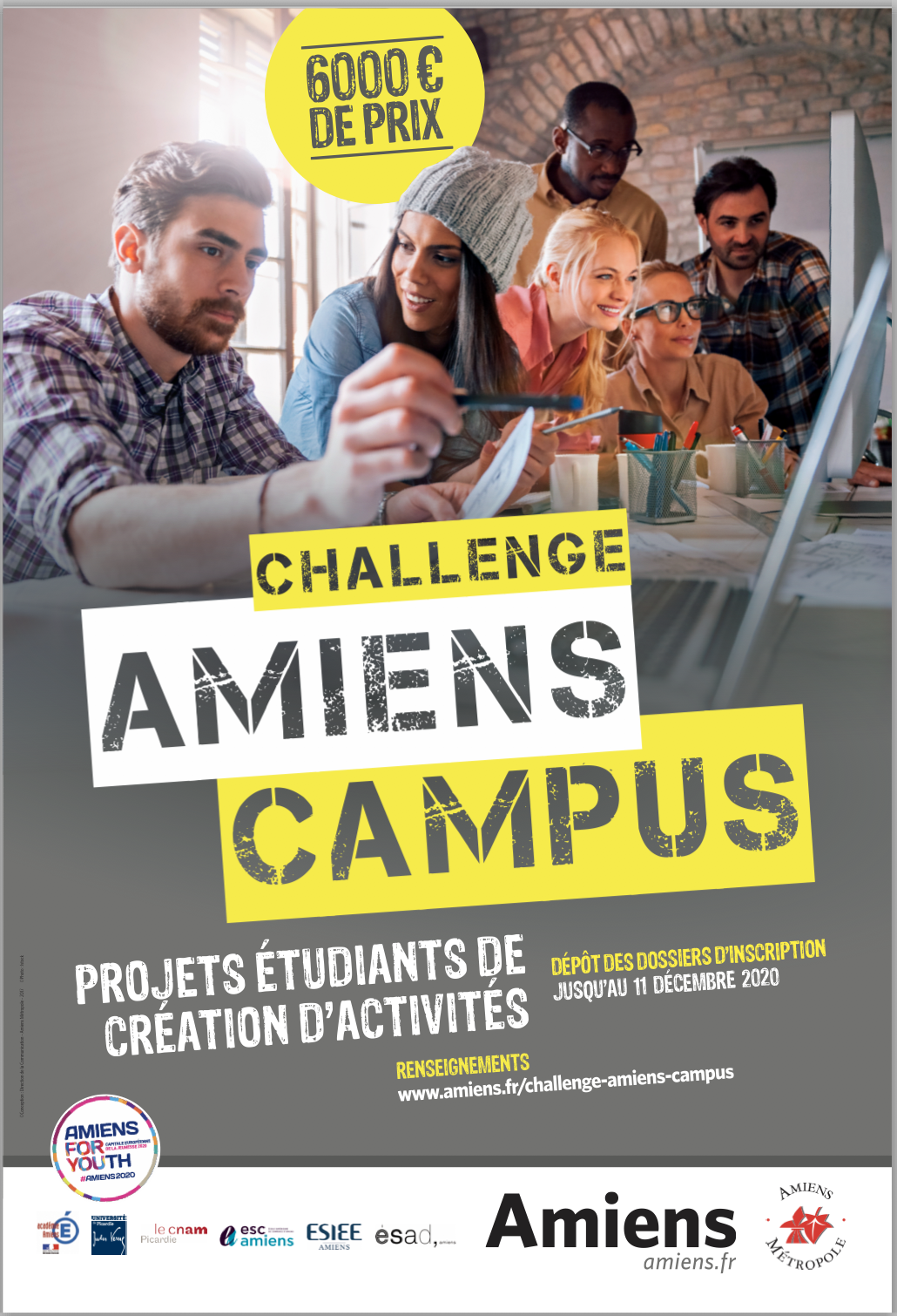 Concours Challenge Amiens Campus 2020/2021