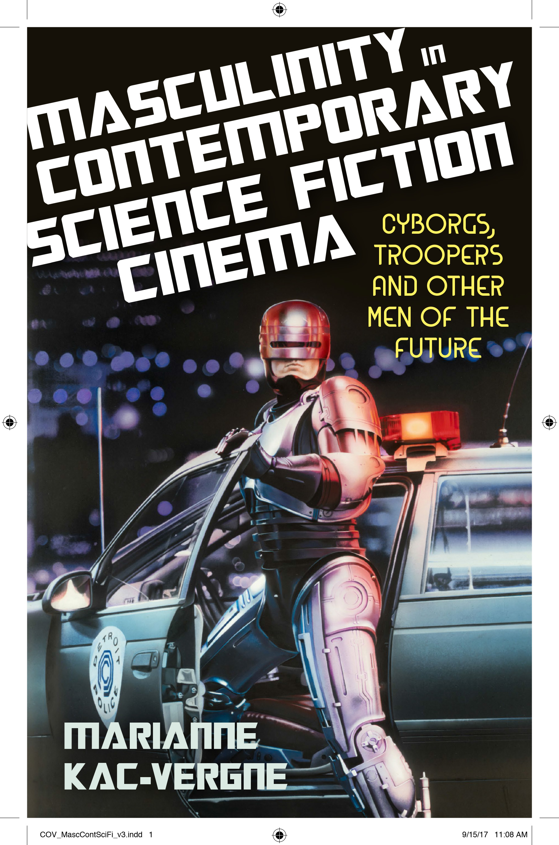 Couverture Masculinity in Contemporary Science Fiction Cinema