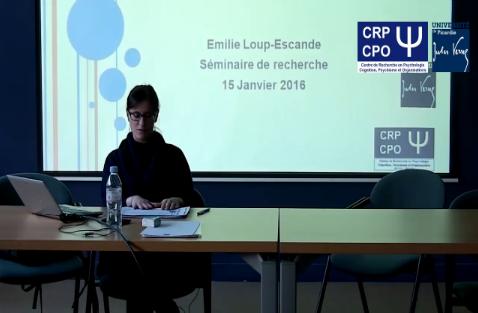 Ergonomie - Colloque CRP-CPO