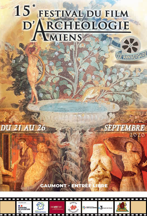 Affiche - Festival du film d'archéologie d'Amiens 2020
