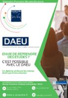 Vignette du flyer Diplôme d'Accès aux Etudes Universitaires (DAEU)