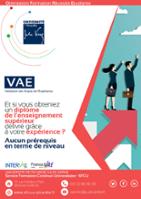 Vignette du flyer Validation des Acquis de l'Expérience (VAE)