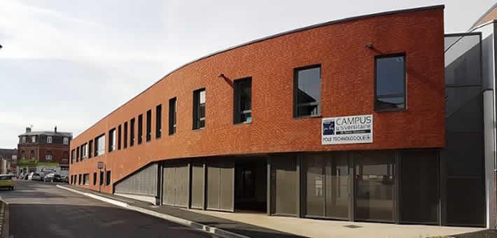 Campus universitaire de Saint-Quentin - l'INSSET