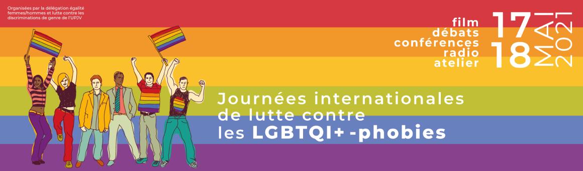 Journées internationales contre les lgbtqi+-phobies