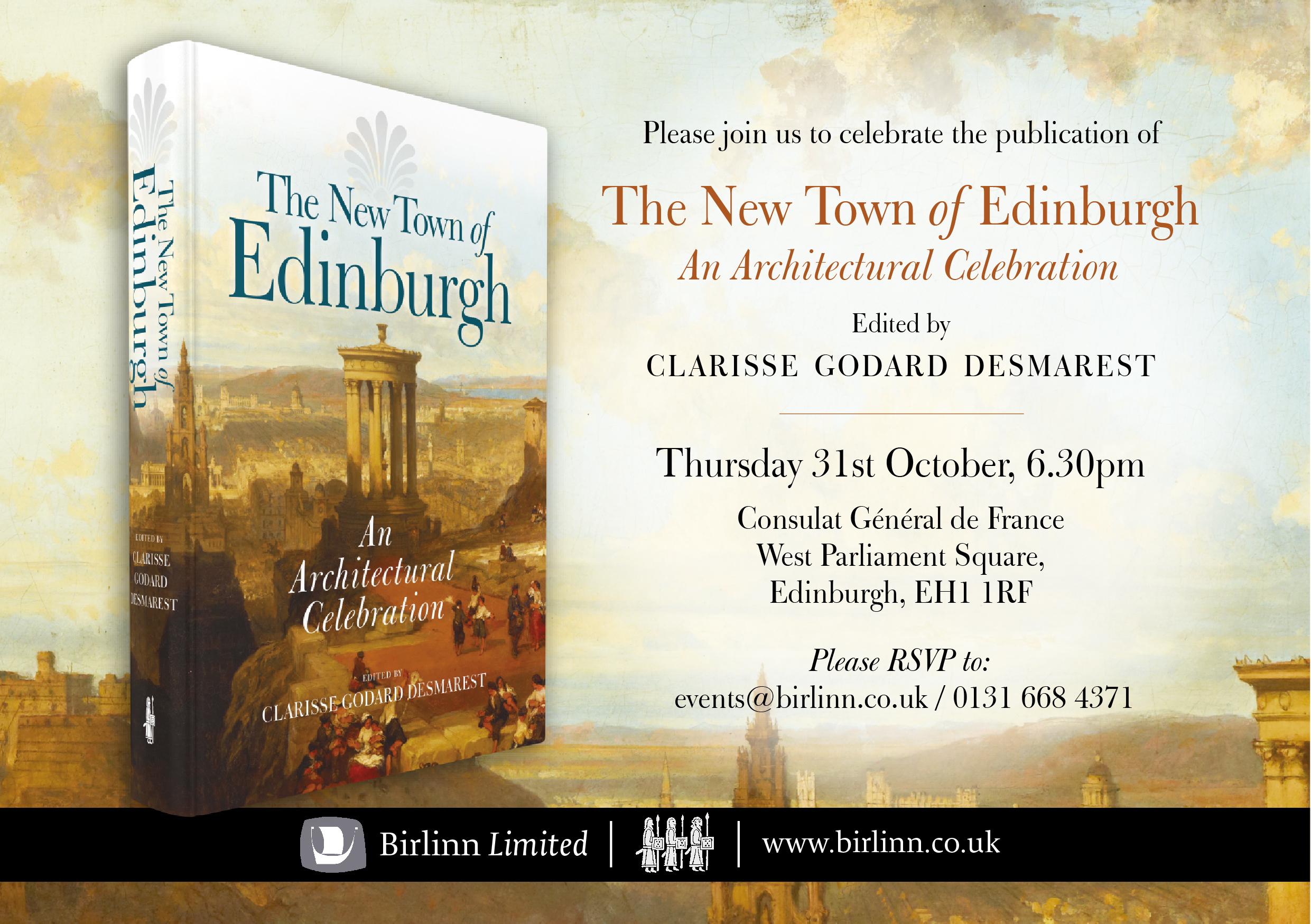 The New Town of Edinburgh
