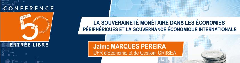 Conférence de Jaime MARQUES PEREIRA