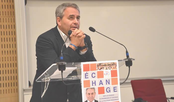 IAE Amiens - Xavier Bertrand