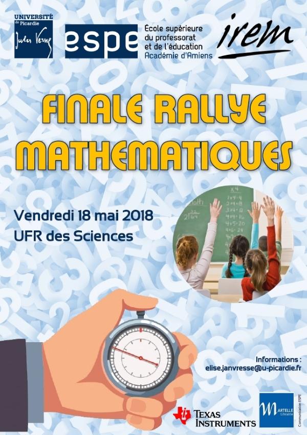 Finale Rallye mathématiques