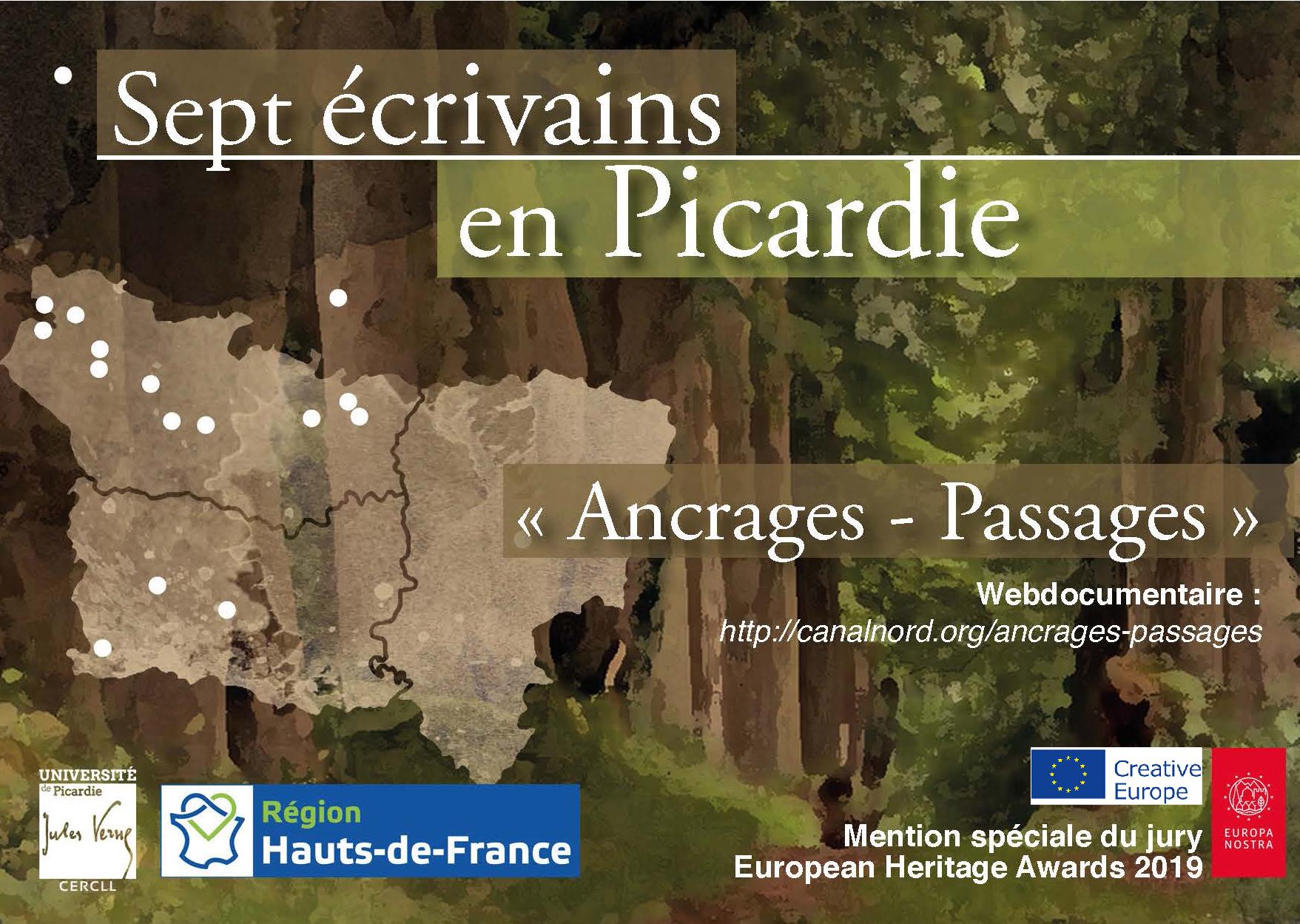 Webdoc 7 écrivains en Picardie