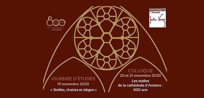 800 ans Cathédrale : « Stalles, chaires et sièges » - Les stalles de la cathédrale d'Amiens : 500 ans