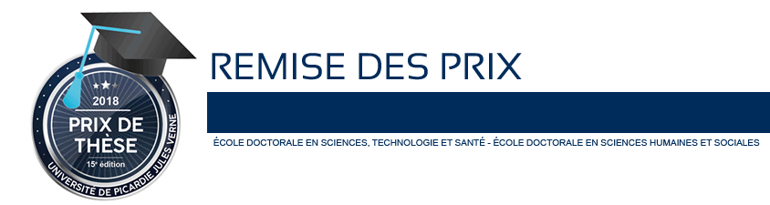 Prix de thèses 15e - Remise des Prix