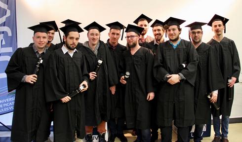Remise diplômes UFR Sciences