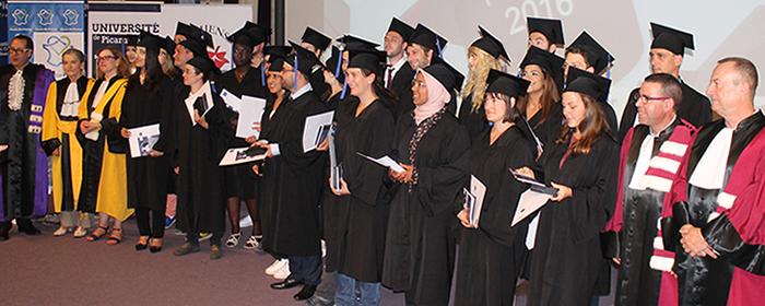 4ème cérémonie solennelle en l'honneur des Docteurs de l'UPJV et 14ème édition du Prix de thèse