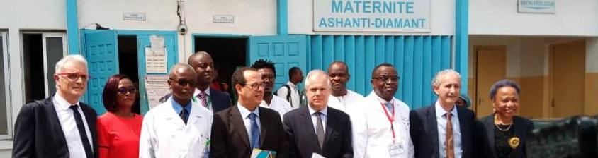 Signature du mémorandum  - Cameroun (Douala et Kribi)