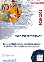 Taxe Apprentissage UFR SHSP 2020-2021