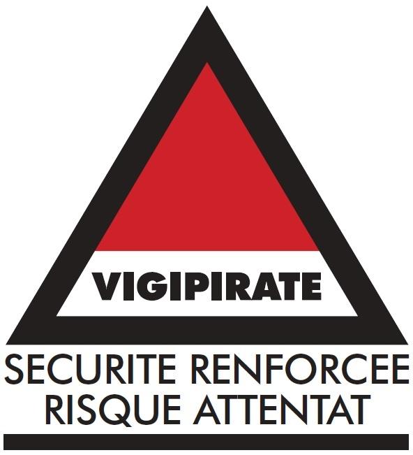 Vigipirate (sécurité renforcée, risque attentat)